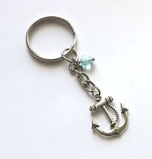 Prívesok na kľúče - kotva   Damina - SAShE.sk - Handmade Kľúčenky b94eb4a4bc8