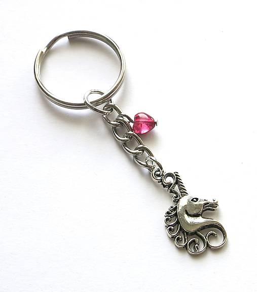 Prívesok na kľúče - jednorožec   Damina - SAShE.sk - Handmade Kľúčenky 1b6d6507cc3