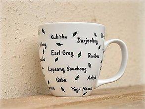 Nádoby - Hrnček pre čajomila - Nie je čaj ako čaj - 7825682_