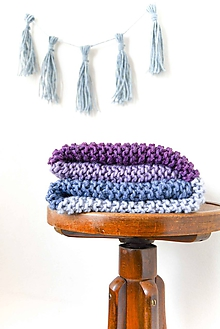 Textil - Lovely... Stripes... deka... #1... 100% vlna - 7826359_