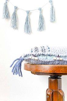 Úžitkový textil - Bohemian... Dreams... poťah... #3... 100% vlna - 7826477_