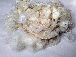 Textil - Wensleydale - rúno s kučierkami 50g - 7824586_