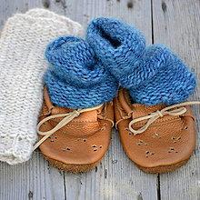 Topánočky - Mininávleky...petrolejové - 7826774_
