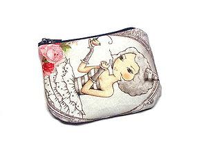 Peňaženky - taštička/peňaženka - 7829808_