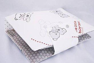 Detské doplnky - Organizér na plienky little baby bear - 7829725_
