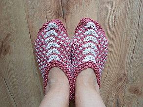 Obuv - Pletené papučky Alica - 7828558_