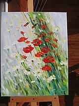 Obrazy - Vo vysokej tráve - 7829278_