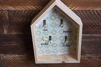 Krabičky - Domček na kľúče - 7831645_