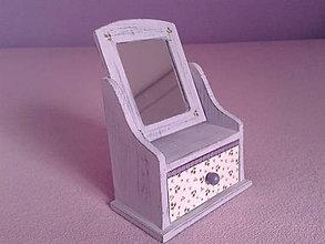 Krabičky - Zrkadielková - fialová - 7831970_