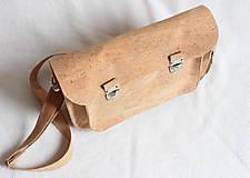 Veľké tašky - Aktovka korková natural - 7832224_