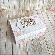 Krabičky - Krabička na prstienky - 7829000_