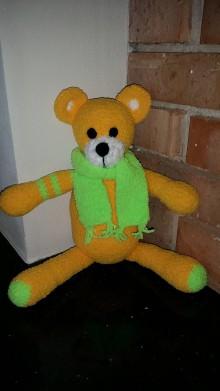 Hračky - Háčkovaný medvedík - 7830123_