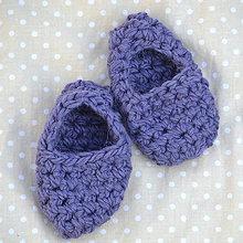 Topánočky - Minipapučky...starofilaové - 7832198_