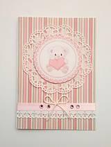 Papiernictvo - blahoželanie k narodeniu dieťatka - 7828107_