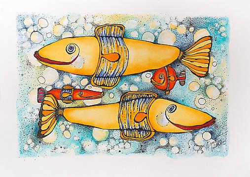 Rybičky - štyri