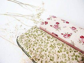 Na tablet - Obal na mobil - zelené bylinky v režnej - 7833237_