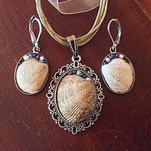 Sady šperkov - sada šperkov: mušľová - 7834539_