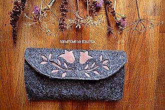 Peňaženky - Ľudová peňaženka V, - 7833978_