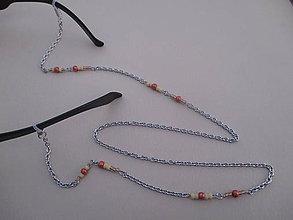 Iné šperky - Retiazka na okuliare-chirurgická oceľ - 7836497_