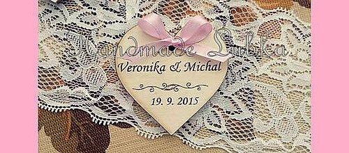 Darčeky pre svadobčanov - Svadobné magnetky - 7833287_