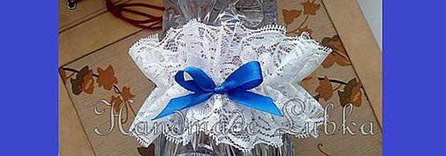 Bielizeň/Plavky - Podväzok pre nevestu ♥ - 7833348_