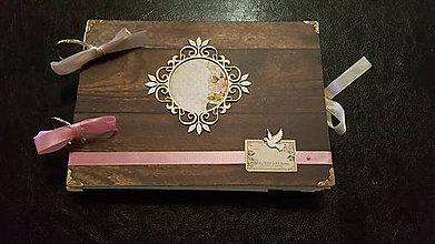Nezaradené - Svadobny album brown&pink - 7837441_