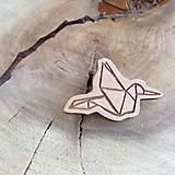 Odznaky/Brošne - Odznak Vtáčik - 7835247_