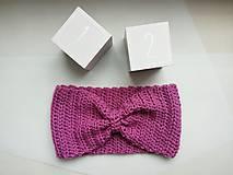 Detské čiapky - Ružová jemná ako pierko - 7837168_