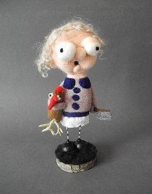 Dekorácie - Babicka a jej vecera - 7836954_