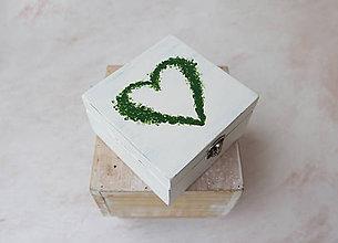 "Prstene - Svadobná krabička ""ľúb ma"" - 7835269_"