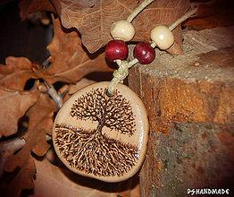 Náhrdelníky - Little Big Tree na želanie  - 7841209_