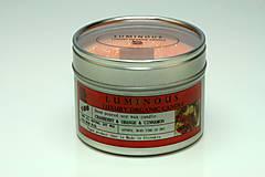 Svietidlá a sviečky - Sójová sviečka - 7842156_