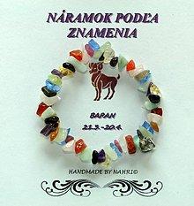 Náramky - Náramok - Baran - 7842025_