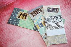 Papiernictvo - Recy záložky do knihy - sada 3ks - 7840326_
