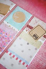 Papiernictvo - Recy záložky do knihy - sada 3ks - 7840392_