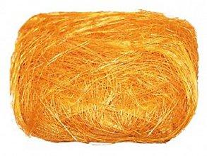 Suroviny - Dekoračný sisal bledooranžový - 7839403_