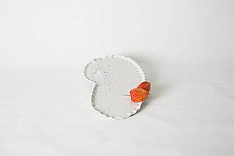 Nádoby - porcelánová tácka Kašmír - 7842067_