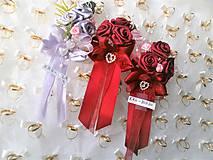 Kytice pre nevestu - Poďakovanie pre svadobné matky - 7841727_