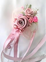 Kytice pre nevestu - Poďakovanie pre svadobné matky - 7841732_