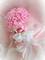 Kytice pre nevestu - Poďakovanie pre svadobné matky - 7841735_