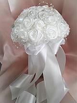 Kytice pre nevestu - Poďakovanie pre svadobné matky - 7841736_