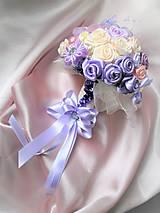 Kytice pre nevestu - Poďakovanie pre svadobné matky - 7841742_