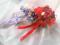 Kytice pre nevestu - Poďakovanie pre svadobné matky - 7841746_