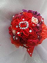 Kytice pre nevestu - Poďakovanie pre svadobné matky - 7841747_