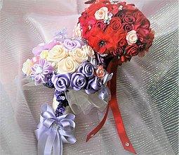 Kytice pre nevestu - Poďakovanie pre svadobné matky - 7841748_