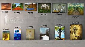 Obrazy - TRI ZLATÉ MAKOVICE  fotoplátno 50x70 cm - 7837871_
