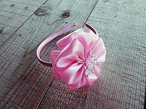 Ozdoby do vlasov - Čelenka s kvetom - 7842399_