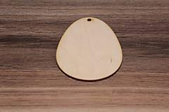 - Drevené vajíčko7cm x 9,5cm - 7841610_