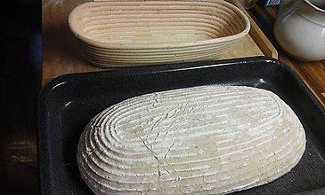 Košíky - Oválna ošatka na kysnutie chleba  - 7840528_