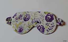 - Kvetinková maska na spanie - 7840216_
